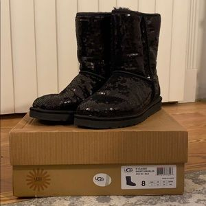 Women's UGG Classic Short Sparkle Boots